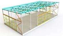 Проектирование металлоконструкций каркаса (КМ, КМД)