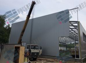 Строительство склада для компании ВИПСИЛИНГ