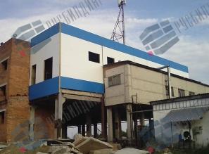 Талицкое молоко, реконструкция здания для нужд предприятия
