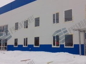 Торгово-сервисный центр КамАЗ в г. Ноябрьск, ЯНАО, строительство здания