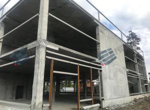 Торговый центр, Свердловская область - монтаж металлоконструкций, ограждающих конструкций