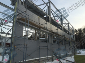 Производственный корпус в г. Верхняя Пышма, поставка стеновых панелей