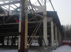 Цех по производству труб с ППУ изоляцией, г.Полевской, реконструкция