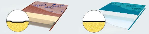 Варианты облицовки сэндвич-панелей