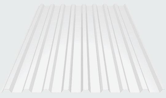 Купить поликарбонатный профилированный лист МП-20х1100